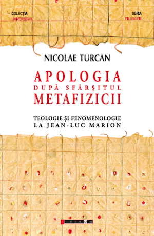 "A review by Christian Crăciun at ""Apology after the End of Metaphysics"" [In Romanian]"