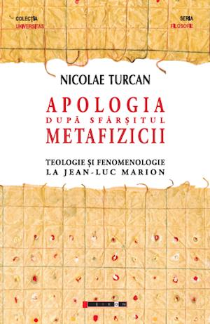 Copertă Nicolae Turcan, Apologia după sfârșitul metafizicii